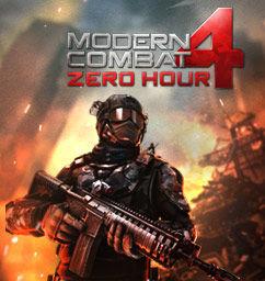 Modern Combat 4: Zero Hour HD GRATUIT