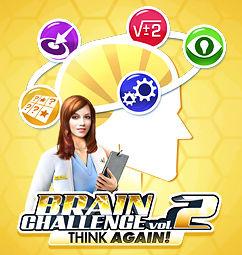 Cérébral Challenge 2 : Vos neurones à la puissance 2 !