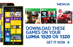 Nokia Lumia 1320 and 1520: the future of gaming!
