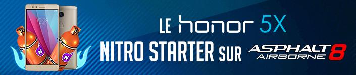 Du 17/08 AU 23/08, BOOSTEZ VOS CHANCES DE GAGNER LA COURSE dans Asphalt 8 Airbone avec Honor ! #Asphalt8HonorCup