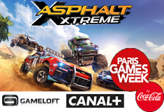Asphalt Xtreme au Paris Games Week !