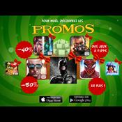 Gameloft annonce ses #PromoNoël sur l'App Store et Google Play