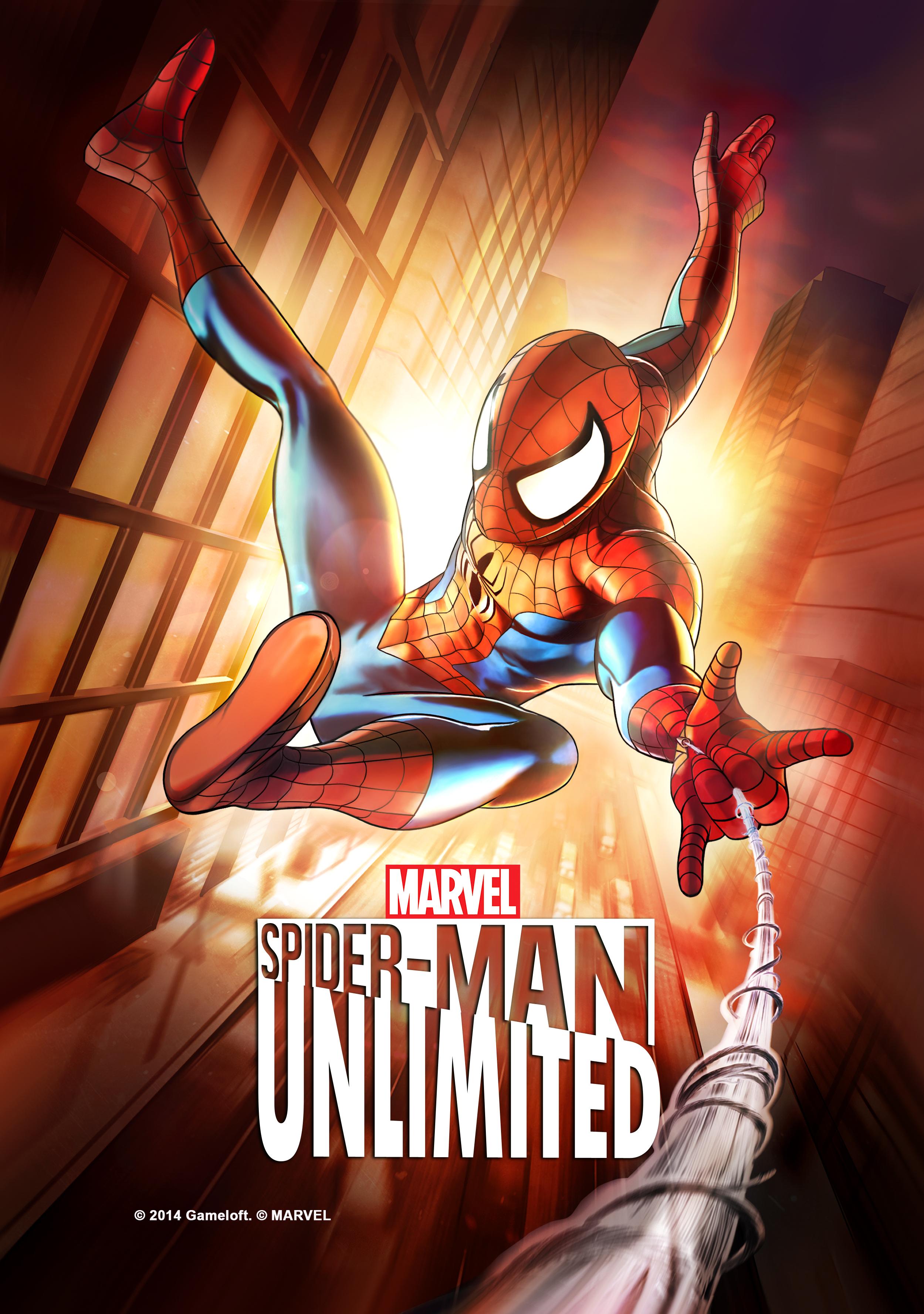 Gameloft et Marvel annoncent  Spider-Man Unlimited sur smartphones et tablettes